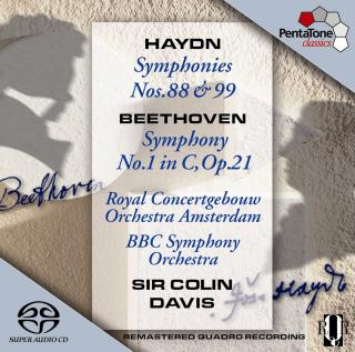 Haydn & Beethoven: Symphonies - Royal Concertgebouw Orchestra/BBC Symphony Orchestra/Davis, Sir Colin