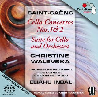 Saint-Saens: Cello Concertos - Walevska, Christine (cello)