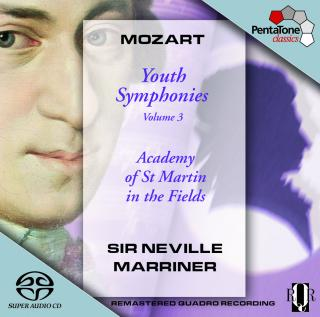 Mozart: Youth Symphonies Volume 3 - Academy of St Martin in the Fields/Marriner, Sir Neville