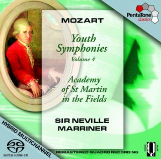 Mozart:Youth Symphonies Volume 4 - Academy of St Martin in the Fields/Marriner, Sir Neville