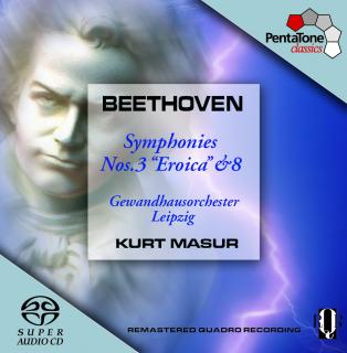 Beethoven:Symphonies Nos. 3 Eroica & 8
