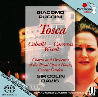 Puccini:Tosca - Davis, Sir C./Caballe/Carreras/Chorus&Orch. of the Royal Opera