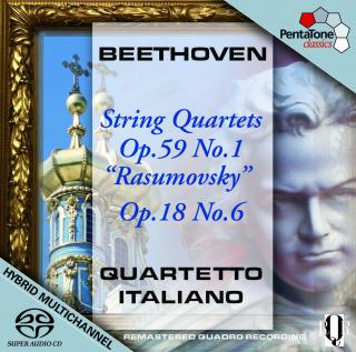 Beethoven:String Quartets Op.59 No.1 & Op.18 No.6 - Quartetto Italiano