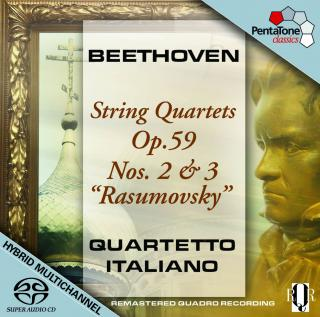 Beethoven:String Quartets Op.59 Nos.2 & 3 - Quartetto Italiano