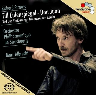 Strauss, Richard: Tone Poems - Orchestre Philharmonique de Strasbourg/Albrecht, Marc