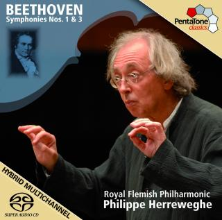 Beethoven: Symphonies Nos 1 & 3 - Royal Flemish Philharmonic/Herreweghe, Philippe