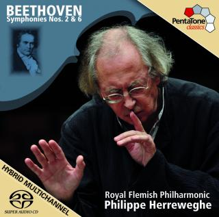 Beethoven: Symphonies Nos 2 & 6 - Royal Flemish Philharmonic/Herreweghe, Philippe