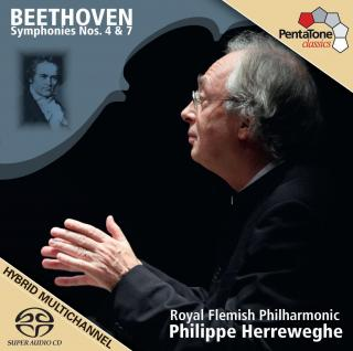 Beethoven: Symphonies Nos 4 & 7 - Royal Flemish Philharmonic/Herreweghe, Philippe