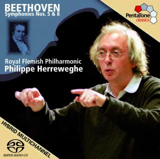 Beethoven: Symphonies Nos 5 & 8 - Royal Flemish Philharmonic/Herreweghe, Philippe