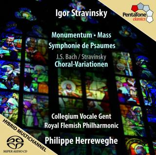 Stravinsky: Monumentum, Mass, Symphony Of Psalms & Choral Variations