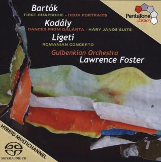 Foster, Lawrence Conducts Bartók, Kodály & Ligeti - Gulbenkian Orchestra/Foster, Lawrence
