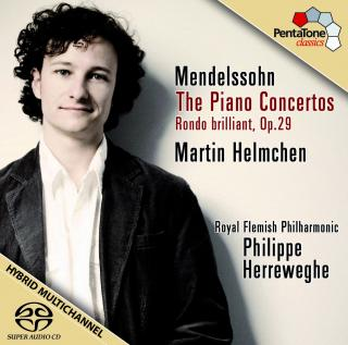 Mendelssohn:The Piano Concertos & Rondo Brilliant - Helmchen, Martin (piano)