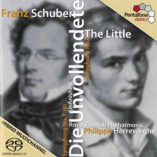 Schubert: Symphonies Nos 6 & 8 - Royal Flemish Philharmonic Orchestra/Herreweghe, Philippe
