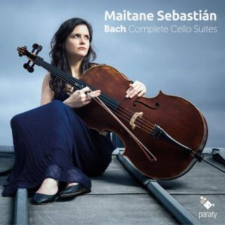Bach: Complete Cello Suites - Sebastian, Maitane (cello)