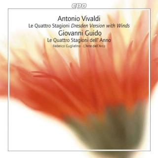 Vivaldi/Guido: Le Quattro Stagione, Dresden Version For Winds - L'Arte dell'Arco/Federico Guglielmo (violin & director)