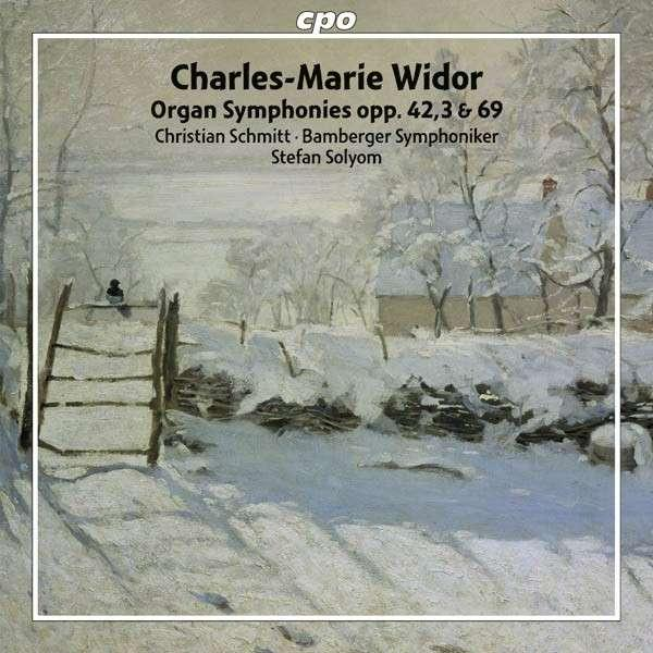 Widor: Organ Symphonies Volume 2 <span>-</span> Christian Schmitt (orgel)