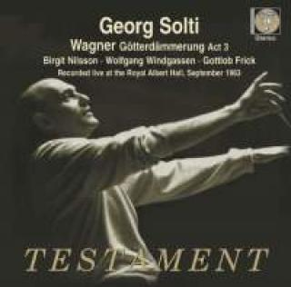 Wagner, Richard: Götterdämmerung: Act 3 - Recorded live at the Royal Albert Hall, 6 September 1963 - Solti, Georg