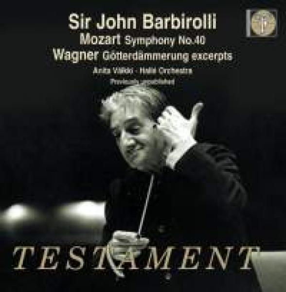 Barbirolli conducts Mozart & Wagner <span>-</span> Barbirolli, Sir John