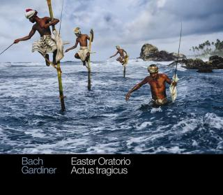 JS Bach: Easter Oratorio & Actus tragicus - Monteverdi Choir / English Baroque Soloists / Gardiner, John Eliot