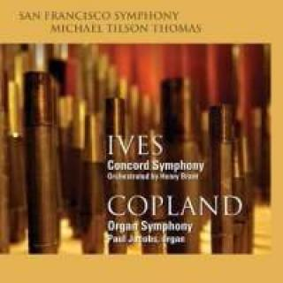 Ives, Charles & Copland, Aaron: Symfonier - Thomas, Michael Tilson