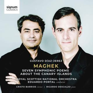 Gustavo Díaz-Jerez: Maghek - Seven Symphonic Poems About the Canary Islands - Royal Scottish National Orchestra / Portal, Eduardo