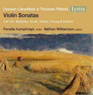 Violin Sonatas – Twentieth Century Music for Violin & Piano - Humphreys, Fenella – violin | Williamson, Nathan - piano
