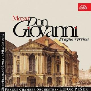 Mozart: Don Giovanni. Opera in 2 Acts (Prague version) - Prague Chamber Orchestra / Pešek, Libor