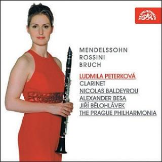 Mendelssohn / Rossini / Bruch: Works for Clarinet and Orchestra