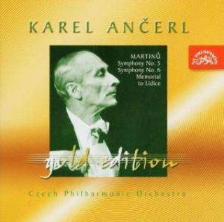 Ančerl Gold Edition 34. Martinů: Symphony Nos 5 & 6, Memorial to Lidice