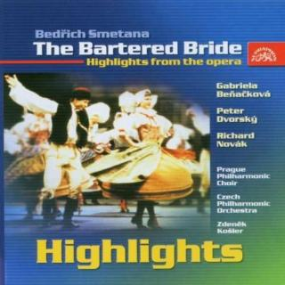Smetana: The Bartered Bride - Highlights from the Opera - Czech Philharmonic Orchestra / Košler, Zdeněk