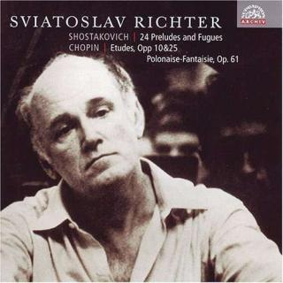 Shostakovich: 24 Preludes and Fugues, Op. 87 - Chopin: Etudes and Polonaise - Richter, Sviatoslav (piano)
