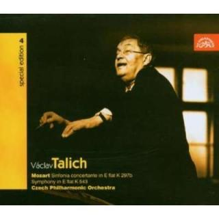 Talich Special Edition 4. Mozart: Sinfonia Concertante, Symphony in E flat K543 - Czech Philharmonic Orchestra / Talich, Václav