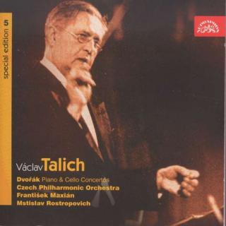 Talich Special Edition 5. Dvořák: Cello & Piano Concertos - Czech Philharmonic Orchestra / Talich, Václav