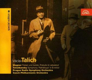 "Talich Special Edition 8. Wagner: Tristan und Isolde - Tchaikovsky: Symphony ""Pathetique"" - Czech Philharmonic Orchestra / Talich, Václav"