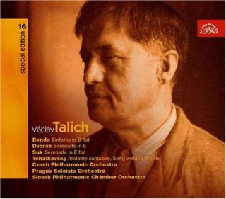 Talich Special Edition 16. Benda: Sinfonia in B flat - Dvořák & Suk: Serenades - Tchaikovsky: Andante Cantabile, Song Without Words - Czech Philharmonic Orchestra / Talich, Václav