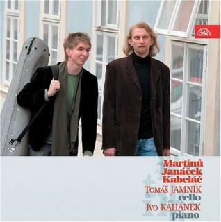 Martinů, Janáček & Kabeláč: Sonatas for Cello and Piano