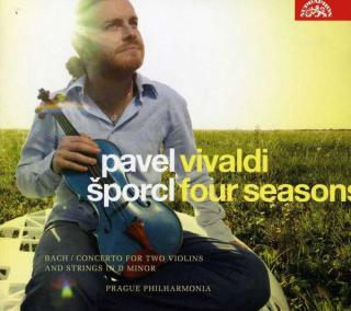 Vivaldi: Four Seasons - Bach: Concerto for Two Violins and Strings - Šporcl, Pavel (violin) / Prague Philharmonia