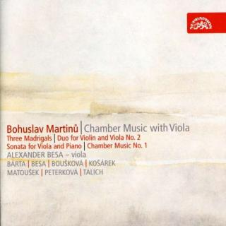 Martinů: Chamber Music with Viola