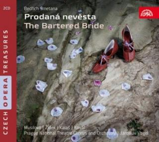 Smetana: The Bartered Bride. Opera in 3 Acts - Prague National Theatre Chorus & Orchestra / Vogel, Jaroslav