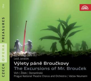 Janáček: The Excursions of Mr. Brouček. Opera in 2 Parts - Prague National Theatre Chorus & Orchestra / Neumann, Václav
