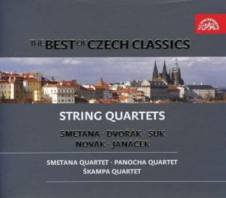 The Best of Czech Classics - Smetana, Dvořák, Janáček: String Quartets - The Smetana Quartet / The Panocha Quartet / The Škampa Quartet