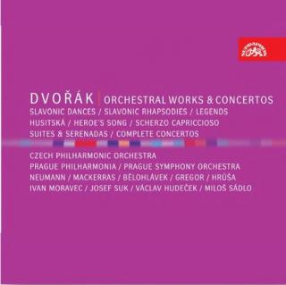 Dvořák: Orchestral Works & Concertos - Various Artists