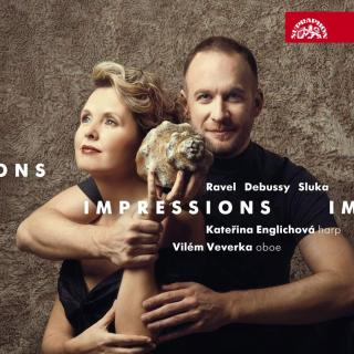 Impressions - Ravel, Debussy, Sluka: Works for Oboe and Harp