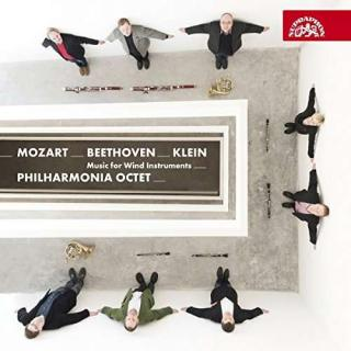 Mozart, Beethoven & Klein: Music For Wind Instruments - Philharmonia Octet