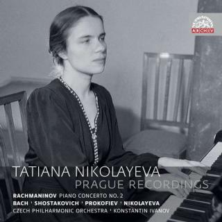 Tatiana Nikolayeva: Prague Recordings - Nikolayeva, Tatiana (piano)