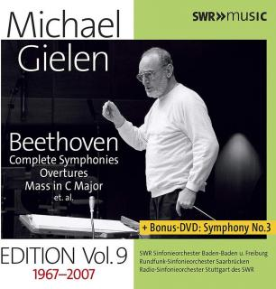 Michael Gielen Edition Vol. 9: Beethoven Symphonies (9 CD+DVD)