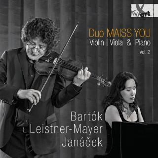 Violin/Viola & Piano Vol. 2 - Bartok, Leistner-Mayer, Janacek - Duo Maiss You