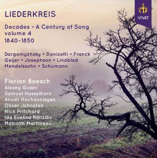 Liederkreis - Decodes - A Century of Song Vol. 4 - Various Singers / Martineau, Malcolm