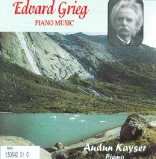 Piano Music By Edvard Grieg - Kayser,Audun